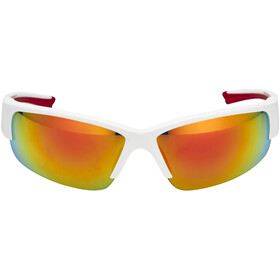 UVEX Sportstyle 215 Glasses, white mat red/red